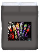 This Is Your Brain On Drugs  Duvet Cover