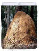 This Mound Has Termites Duvet Cover