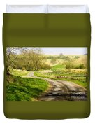 Thixendale Road  North Yorkshire Duvet Cover