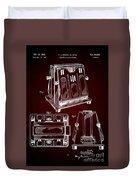 Thomas A. Edison Jr. Toaster Patent 1933 2 Duvet Cover