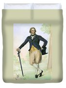 Thomas Bruce, 1766-1841 Duvet Cover