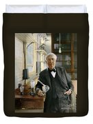 Thomas Edison Duvet Cover