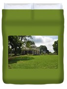 Thomas Jefferson's Monticello Duvet Cover by Bill Cannon