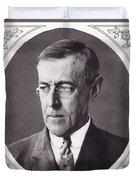 Thomas Woodrow Wilson, 1856 To 1924 Duvet Cover