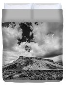 Thompson Springs Gathering Thunderstorm - Utah Duvet Cover