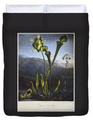 Thornton: Bog Plants Duvet Cover