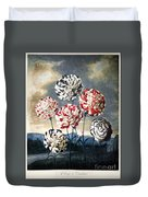 Thornton: Carnations Duvet Cover