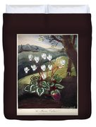 Thornton: Cyclamen Duvet Cover