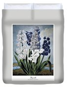 Thornton: Hyacinths Duvet Cover