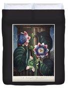 Thornton: Passion-flower Duvet Cover
