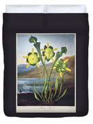 Thornton: Pitcher Plant Duvet Cover