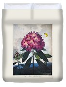 Thornton: Rhododendron Duvet Cover