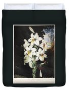 Thornton: White Lily Duvet Cover