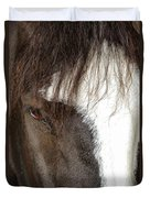 Thoroughbred Portrait One Duvet Cover