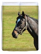 Thoroughbred Portrait Three Duvet Cover