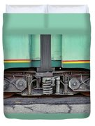 Those Wheels Keep On Turning In Rome Italy Duvet Cover