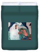 Those Who Hope In The Lord Will Renew Their Strength Duvet Cover