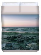 Thoughtful River Duvet Cover