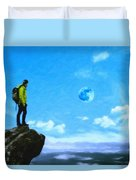 Thoughtful Youth 8 Duvet Cover