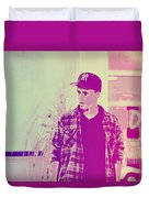Thoughtful Youth Series 28 Duvet Cover