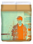 Thoughtful Youth Series 29 Duvet Cover