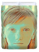 Thoughtful Youth Series 33 Duvet Cover