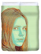 Thoughtful Youth Series 34 Duvet Cover