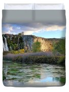Thousand Springs Idaho Duvet Cover