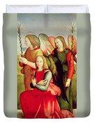 Three Angels Duvet Cover