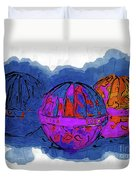 Three Balls Duvet Cover