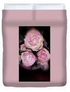 Three Beautiful Roses Duvet Cover