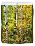Three Birch Duvet Cover