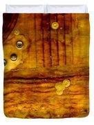 Three Brass Rings II Duvet Cover