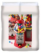 Three Bubble Gum Machines Duvet Cover