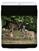 Three Bucks Duvet Cover