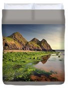 Three Cliffs Bay 3 Duvet Cover