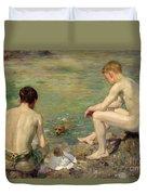 Three Companions Duvet Cover