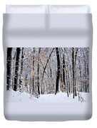 Three Creeks Conservation Area - Winter Duvet Cover