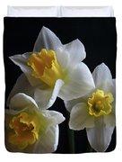 Three Daffodil Duvet Cover