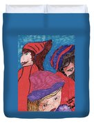 Three Directions Duvet Cover