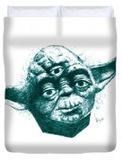 Three Eyed Yoda Duvet Cover