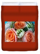 Three From The Heart Duvet Cover