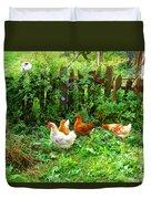 Three Kokas Full Colour Photograph Duvet Cover