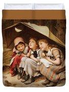 Three Little Kittens Duvet Cover