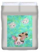Three Little Pigs  Duvet Cover