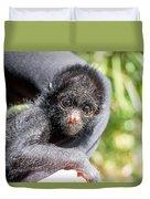Three Month Old Spider Monkey Duvet Cover