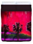 Three Palms II Duvet Cover