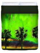 Three Palms IIi Duvet Cover