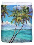 Three Palms Duvet Cover