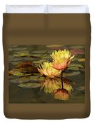 Three Perfect Lilies Duvet Cover